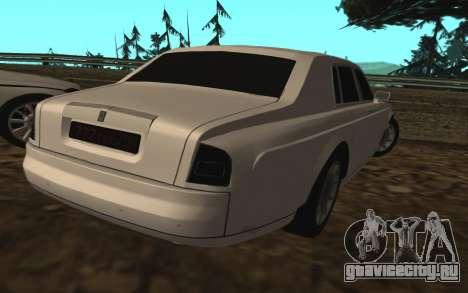Rolls-Royce Phantom v2.0 для GTA San Andreas