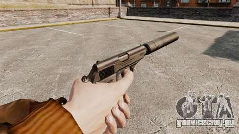 Самозарядный пистолет Walther PPK v1 для GTA 4 второй скриншот