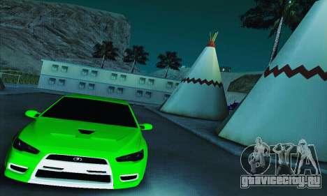 ВАЗ 2108 Lancer для GTA San Andreas вид справа