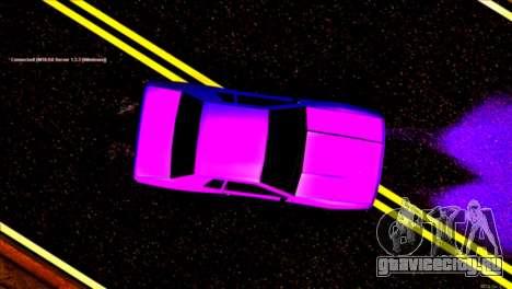 Elegy Drift Silvia для GTA San Andreas вид сзади
