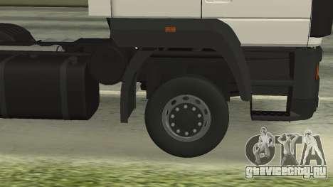МАЗ 5440 для GTA San Andreas вид сбоку