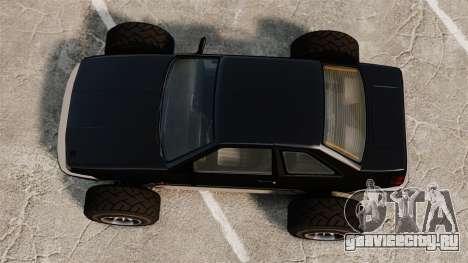 Futo-багги для GTA 4 вид справа
