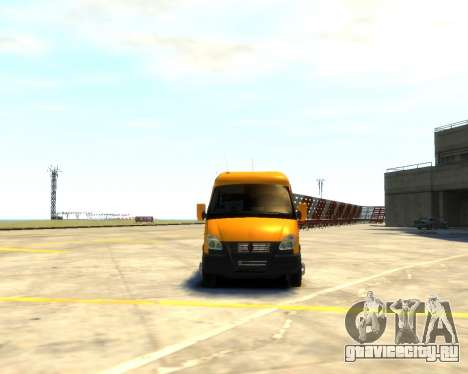 Газель 3221 для GTA 4 вид справа