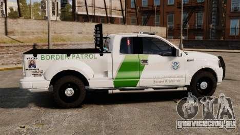 Ford F-150 v3.3 Border Patrol [ELS & EPM] v1 для GTA 4 вид слева