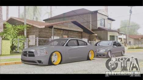Dodge Charger SRT8 для GTA San Andreas вид сзади