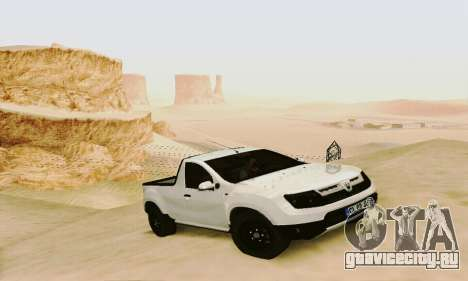 Dacia Duster Pick-up для GTA San Andreas