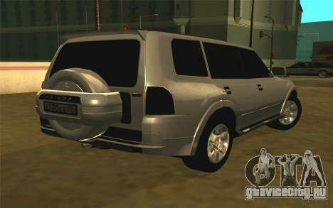 Mitsubishi Pajero для GTA San Andreas
