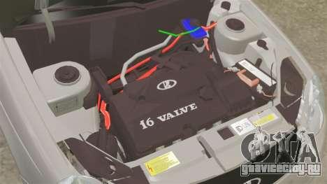 ВАЗ-2170 Приора для GTA 4 вид изнутри