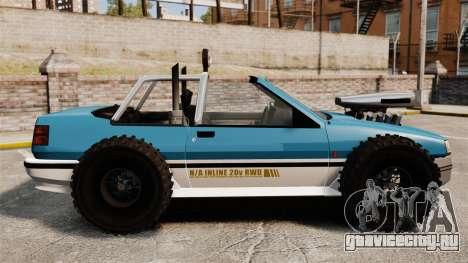 Jeep Futo Final для GTA 4 вид слева