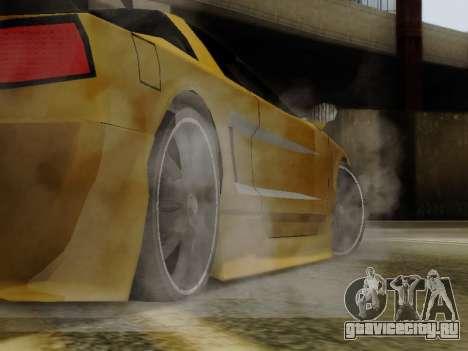 Infernus DoTeX для GTA San Andreas вид справа