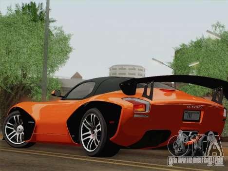 Devon GTX 2010 для GTA San Andreas вид сбоку
