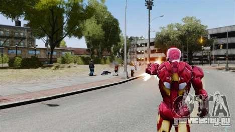 Железный Человек IV v2.0 для GTA 4 четвёртый скриншот