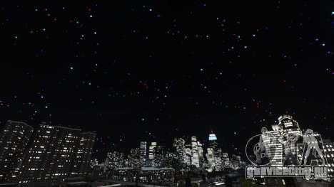 Новое ночное и дневное небо для GTA 4 второй скриншот