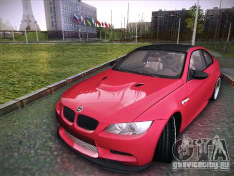 BMW M3 E92 Hamann 2012 для GTA San Andreas вид сзади слева