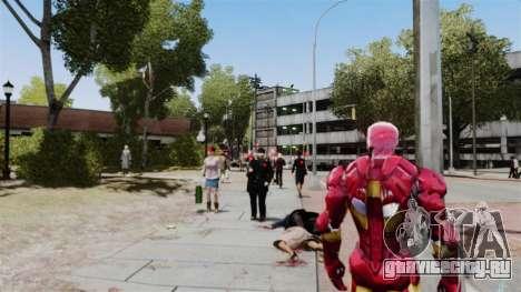 Железный Человек IV v2.0 для GTA 4 пятый скриншот