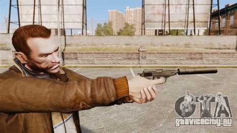 Самозарядный пистолет Walther PPK v1 для GTA 4