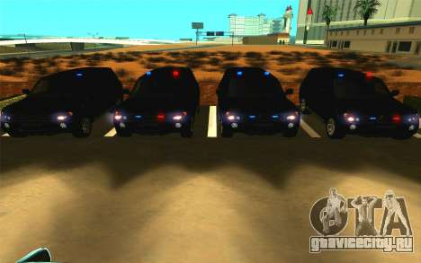 Mitsubishi Pajero для GTA San Andreas вид сбоку