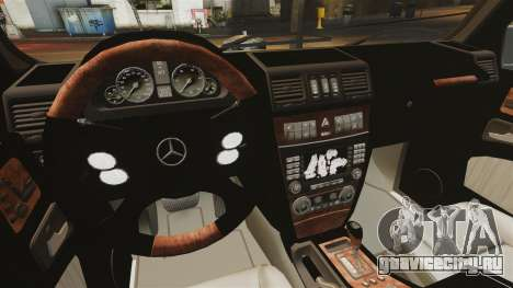Mercedes-Benz G500 для GTA 4 вид сбоку