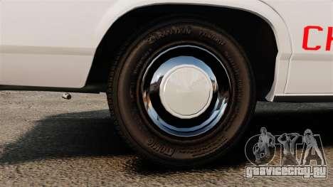 Ford LTD Crown Victoria 1987 [ELS] для GTA 4 вид сзади