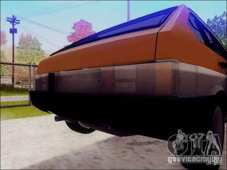 ВАЗ 2109 для GTA San Andreas вид справа