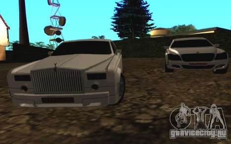 Rolls-Royce Phantom v2.0 для GTA San Andreas вид сзади слева