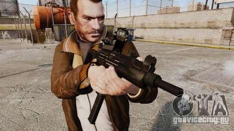 Тактическая узи v4 для GTA 4 третий скриншот