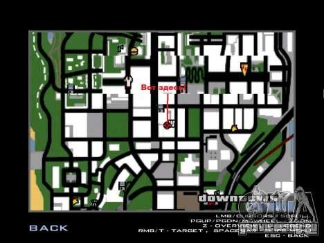 Тренировка Вузи для GTA San Andreas пятый скриншот