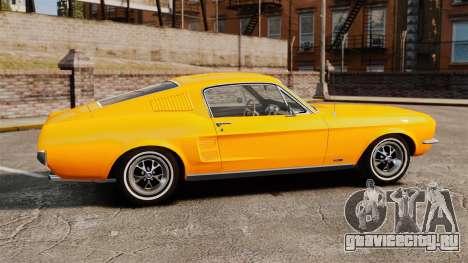 Ford Mustang 1967 Classic для GTA 4 вид слева