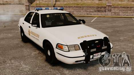 Ford Crown Victoria Police GTA V Textures ELS для GTA 4