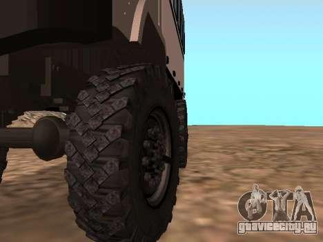 Газ 66 Вахта для GTA San Andreas вид сбоку