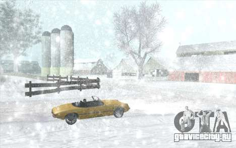 Snow San Andreas 2011 HQ - SA:MP 1.1 для GTA San Andreas шестой скриншот