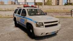 Chevrolet Tahoe 2007 NYPD [ELS]