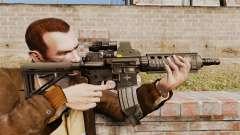Автомат M4 CQC в стиле Modern Warfare для GTA 4