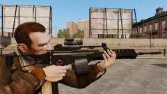 Штурмовая винтовка H&K MG36 v3 для GTA 4