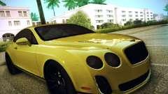 Bentley Continental GT купе для GTA San Andreas