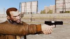 Самозарядный пистолет Glock 17 v2 для GTA 4