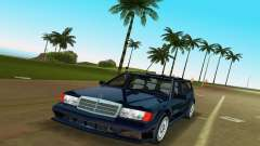 Mercedes-Benz 190E 1990 для GTA Vice City