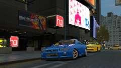 Nissan Skyline GTR-34