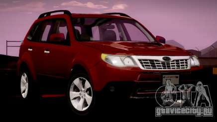 Subaru Forester XT 2008 v2.0 для GTA San Andreas
