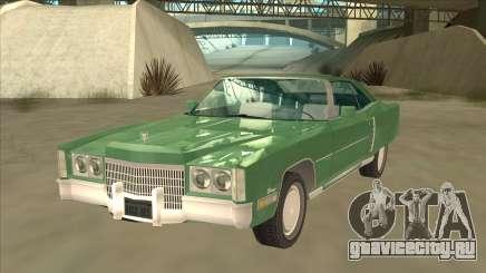 Cadillac Eldorado купе для GTA San Andreas