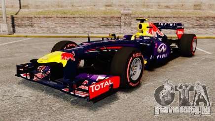Болид Red Bull RB9 v6 для GTA 4