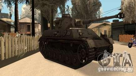 Panzerkampfwagen для GTA San Andreas