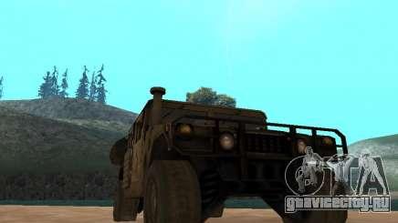 Hamvee M-1025 из Battlefiled 2 для GTA San Andreas