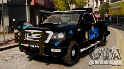 Ford F-150 v3.3 LCPD Auxiliary [ELS & EPM] v2 для GTA 4