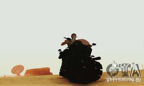 Mercenaries 2 Panzercycle для GTA San Andreas