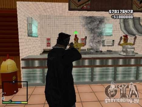 Система ограблений v1.0 для GTA San Andreas