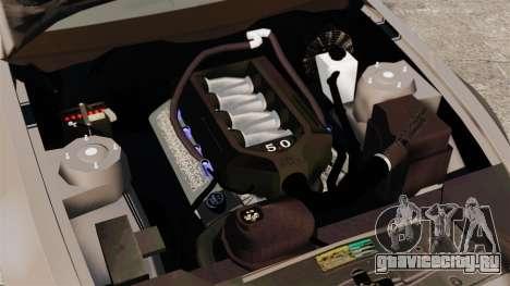 Ford Mustang GT 2013 для GTA 4 вид изнутри