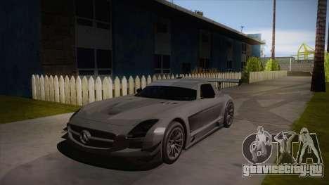 Mercedes-Benz SLS (AMG) GT3 для GTA San Andreas вид слева