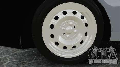 Fiat Palio EDX 1997 для GTA 4 вид сзади