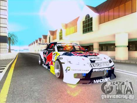 Mazda RX-8 NFS Team Mad Mike для GTA San Andreas вид изнутри